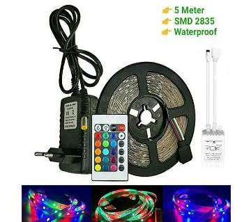 RGB Led Strip Light 2835 DC12V 5 meter 300Leds waterproof