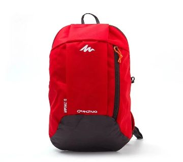 Nylon Fabric Red Sports Backpack