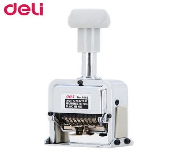 Deli 7510 Automatic Numbering Machine 7 Digits