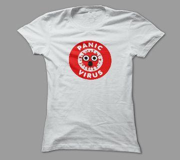 Panic Virus T Shirt For Men