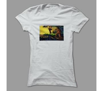 26 March White Polyester T-Shirt