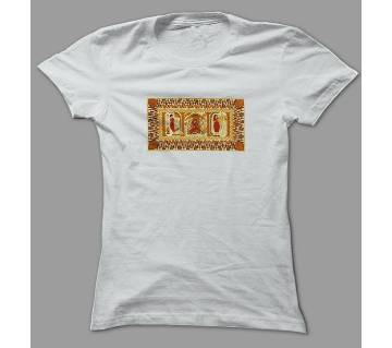 Art Village Bride  White Polyester T-Shirt