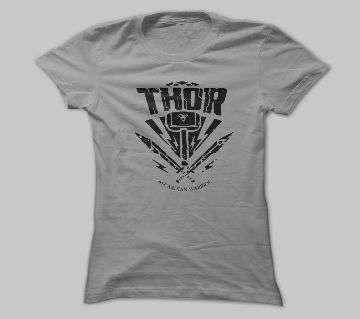 THOR ASH COTTON TSHIRT FOR MEN