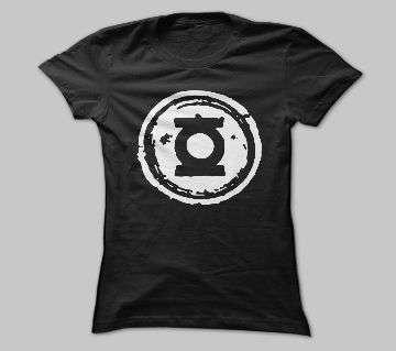 Half Sleeve Black Cotton Tshirt For Men