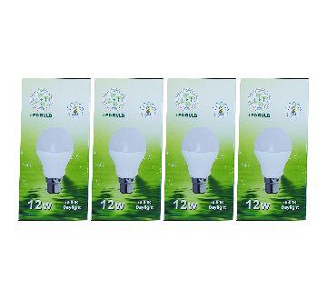 SREL 12W LED BULB  4 pcs Combo