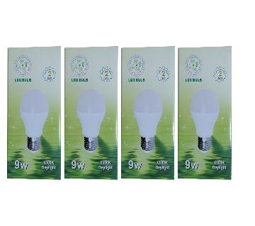 SREL 9W LED BULB  4 pcs Combo