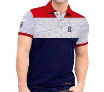 Mens Half Sleeve Cotton T-Shirt-