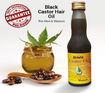 Black Castor Hair Oil for Men and Women-125 ml-BD