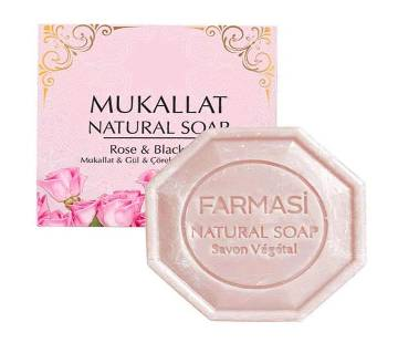 Farmasi  Mukallat Rose Natural Soap -125 Gm-Turkey