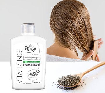 Farmasi Dr. C. Tuna Vitalizing Black Seed Oil Nourishing Shampoo-500 ml-Turkey