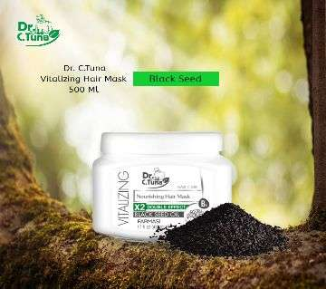 Farmasi Dr.C. Tuna Vitalizing Black Seed Oil Nourishing Hair Mask 500 ml Turkey