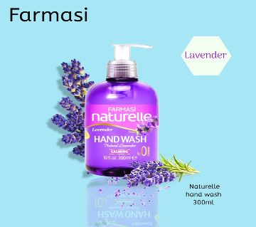 Farmasi Naturelle Hand Wash Lavender (300 Ml)-Turkey