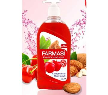 Farmasi Liquid Hand Wash Cherry (500Ml)-Turkey