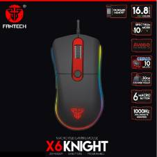 FANTECH X6 KNIGHT LED MECHANICAL GAMING MOUSE
