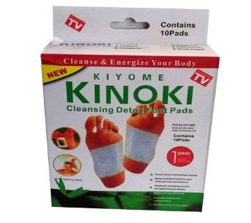 Kinoki Cleansing ডিটক্স ফুট প্যাড - 10 Pads