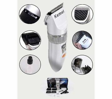 KM 27C Rechargeable Trimmer for Men - White