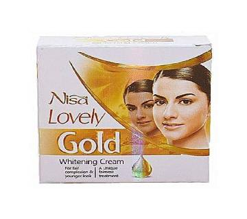 Nisa Lovely Gold Whitening Cream 30ml - Pakistan