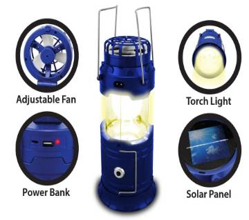 Camping lights with Fan