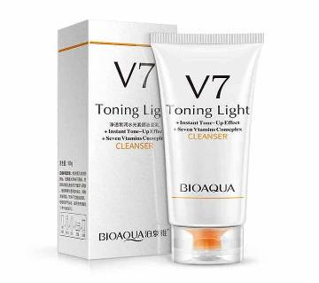 BIOAQUA V7 Toning Light Face Wash 100g China