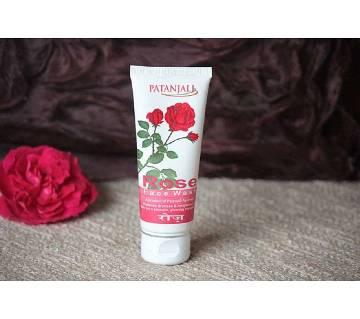 Patanjali Rose Face Wash 60g India
