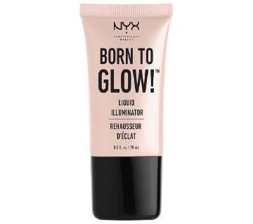 NYX Born To Glow Liquid Illuminator Sunbeam 18ml USA