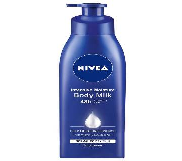 Nivea Intensive Moisture Body Milk Lotion 48h 400ml UAE