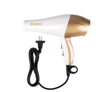 হেয়ার ড্রায়ার Kemei KM-810 - White and Gold