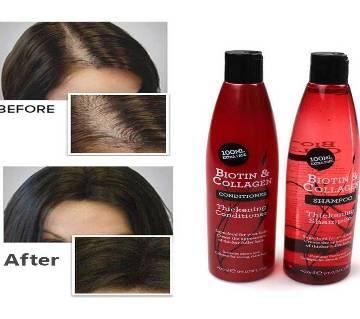 Biotin & Collagen Shampoo And Conditioner 500ml UK