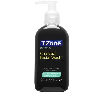 T Zone charcoal Facial Wash - 200ml UK