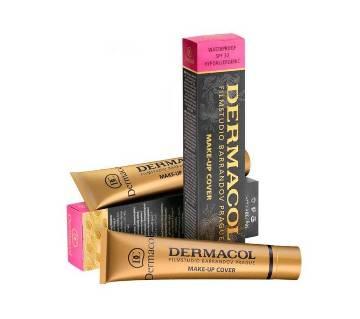 DERMACOL FILM STUDIO BARRANDOV PRAGUE Dermacol makeup cover SPF30 Foundation 60ml POLAND