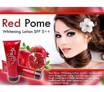 Red pomegranate whitening lotion China 300g