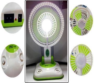 Multifunction rechargeable fan with led light YJ 5869F