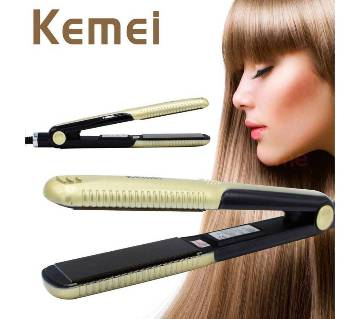 Kemei KM-327 mini hair straightener Professional Hairstyling Portable Dry Ceramic Hair Care lisseur Irons Styling Tools