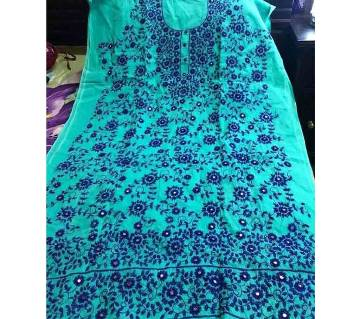 Unstitched cotton kurti
