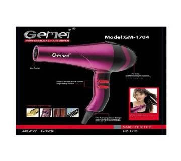 Gemei 1500W Hair Dryer GM 1704