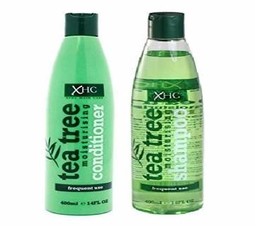 XHC Tea Tree Oil Moisturising শ্যাম্পু ও কন্ডিশনার 400ml+400ml  Thailand