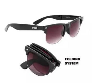 Folding Sunglasses for Men-Brown