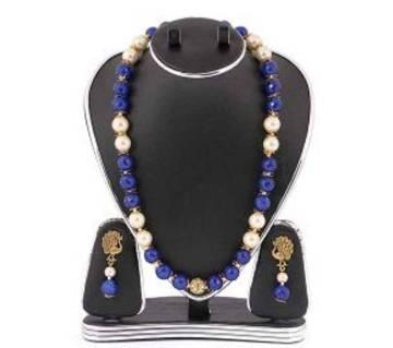 Multi Color Pearls Jewellery Set