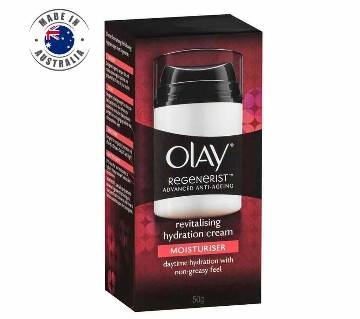 Olay Regenerist Advanced Anti-Ageing Revitalising Hydration Face Cream 50g-Australia