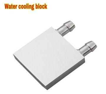 Water cooling block 40x40mm Aluminum For TEC Peltier Plat Heatsink For CPU TEC1-12706