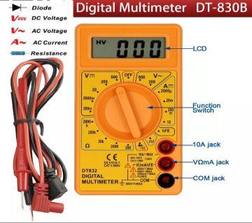 Digital Multi Meter - Yellow
