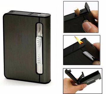2 In 1 Cigarette Case Lighter