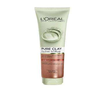 LOreal Paris Pure Clay Glow Scrub 150ml UK