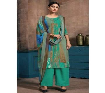 Unstitched Cotton Salwar Kameez for women