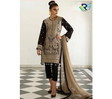 Unstitched Georgette Salwar Suit R9 Designer Studio Gulisa-Hit- 2066 - GBS