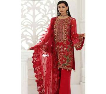 Unstitched Georgette With Heavy Embroidery Salwar Kameez For women