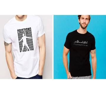 Cotton T-Shirts for Men - Combo