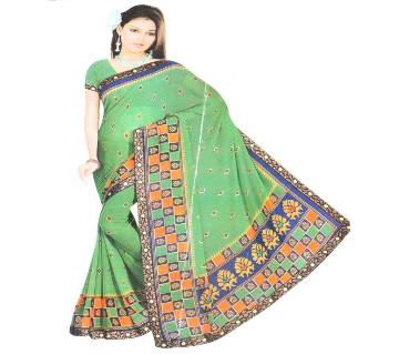 Indian Georgette saree with blouse piece