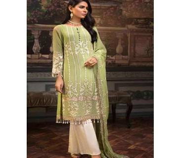 Unstitched fox georgette salwar kameez for women