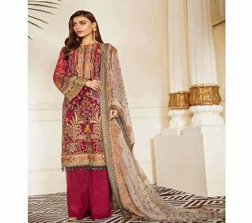Unstitched Georgette Salwar kameez for women
